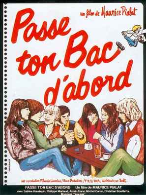 Passe ton bac d'abord - French Movie Poster (thumbnail)