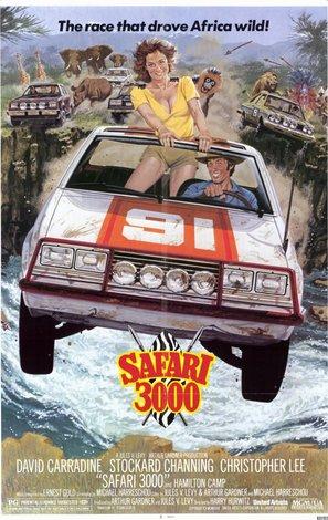 Safari 3000 - Movie Poster (thumbnail)