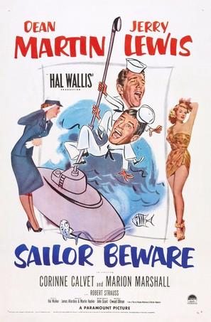 Sailor Beware - Theatrical movie poster (thumbnail)