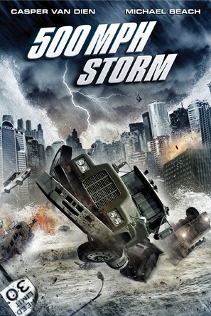 500 MPH Storm - DVD movie cover (thumbnail)