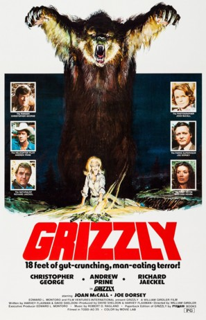 Grizzly - Movie Poster (thumbnail)