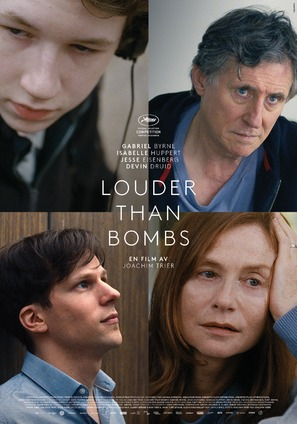 Louder Than Bombs - Norwegian Movie Poster (thumbnail)