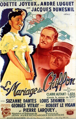 Mariage de Chiffon, Le - French Movie Poster (thumbnail)