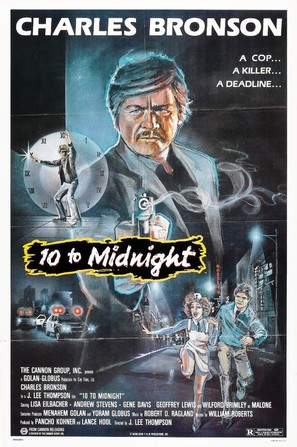 10 to Midnight - Movie Poster (thumbnail)