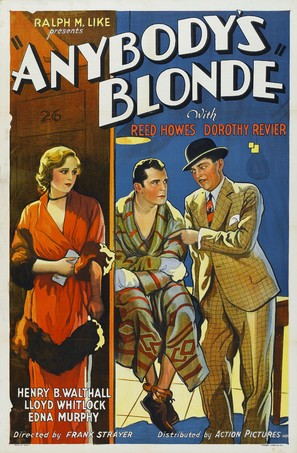 Anybody's Blonde - Movie Poster (thumbnail)