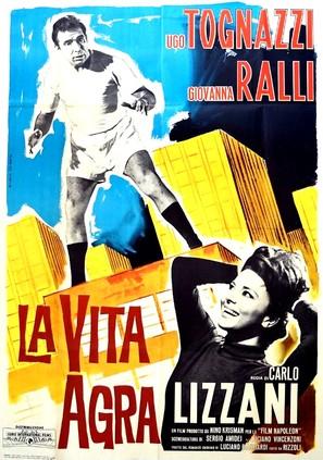 La vita agra - Italian Movie Poster (thumbnail)