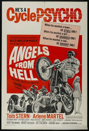 Angels from Hell - Movie Poster (thumbnail)