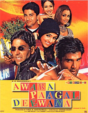 Awara Paagal Deewana - Indian Movie Poster (thumbnail)