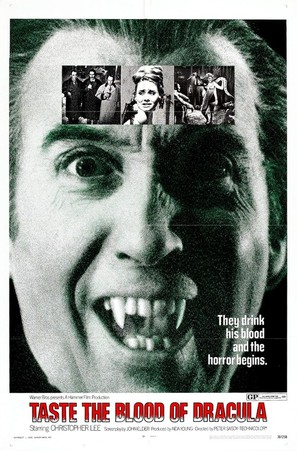 Taste the Blood of Dracula - Movie Poster (thumbnail)