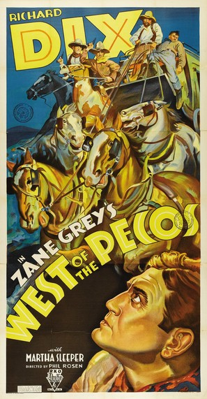 West of the Pecos - Movie Poster (thumbnail)