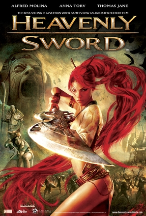 Heavenly Sword - Movie Poster (thumbnail)