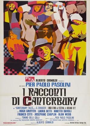 I racconti di Canterbury - Italian Movie Poster (thumbnail)