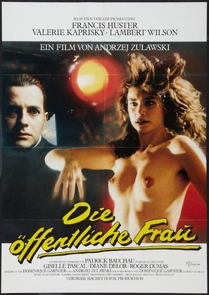 La femme publique - German Movie Poster (thumbnail)