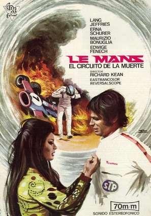 Le Mans scorciatoia per l'inferno - Spanish Movie Poster (thumbnail)