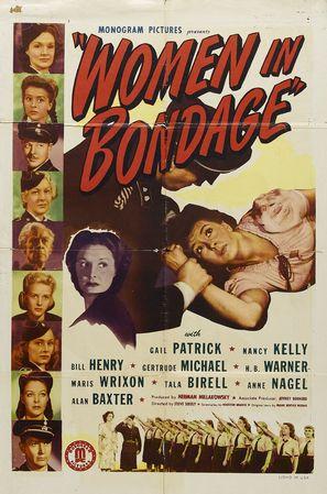 Women in Bondage - Theatrical poster (thumbnail)