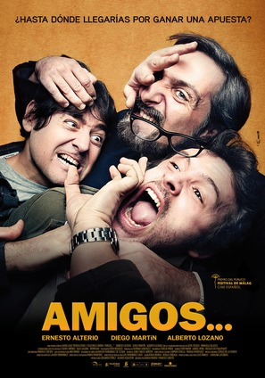 Amigos - Spanish Movie Poster (thumbnail)