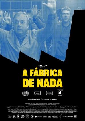 A Fábrica de Nada - Portuguese Movie Poster (thumbnail)