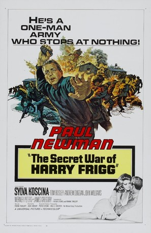 The Secret War of Harry Frigg - Movie Poster (thumbnail)