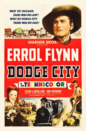 Dodge City - Movie Poster (thumbnail)