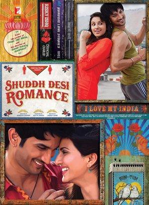 Shuddh Desi Romance - Indian Movie Poster (thumbnail)