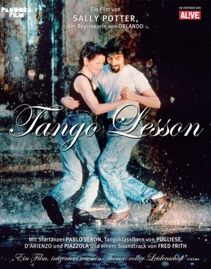 The Tango Lesson - German Movie Poster (thumbnail)