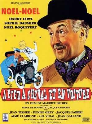 À pied, à cheval et en voiture - French Movie Poster (thumbnail)
