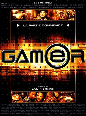 Gamer - French Movie Poster (thumbnail)