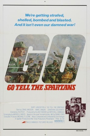 Go Tell the Spartans - Movie Poster (thumbnail)
