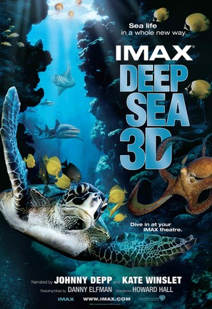 Deep Sea 3D - Movie Poster (thumbnail)