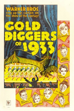 Gold Diggers of 1933 - Movie Poster (thumbnail)