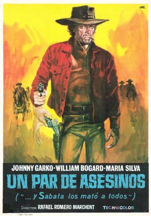 Un par de asesinos - Spanish Movie Poster (thumbnail)
