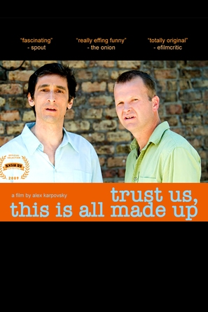 Trust Us, This Is All Made Up - DVD movie cover (thumbnail)
