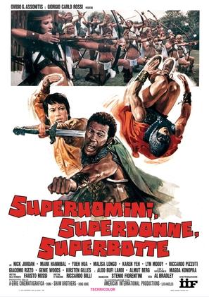 Superuomini, superdonne, superbotte - Italian Movie Poster (thumbnail)