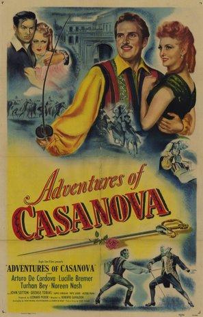 Adventures of Casanova - Movie Poster (thumbnail)