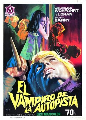 El vampiro de la autopista - Spanish Movie Poster (thumbnail)