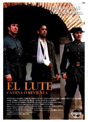 Lute: camina o revienta, El - Spanish Movie Poster (thumbnail)