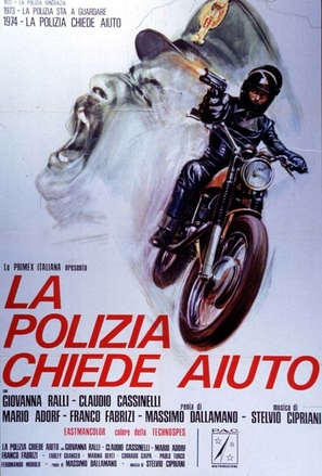 La polizia chiede aiuto - Italian Movie Poster (thumbnail)