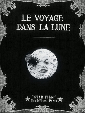 Le voyage dans la lune - French Movie Poster (thumbnail)