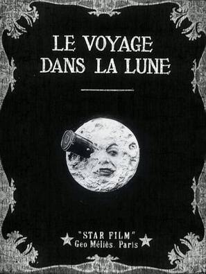 Le voyage dans la lune - French Movie Poster (thumbnail)