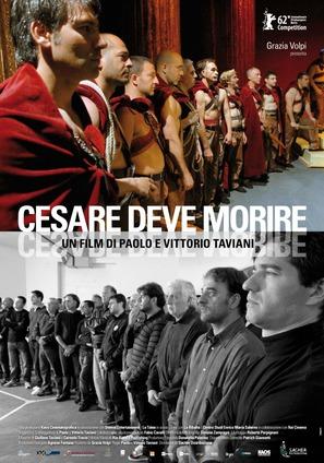 Cesare deve morire - Italian Movie Poster (thumbnail)