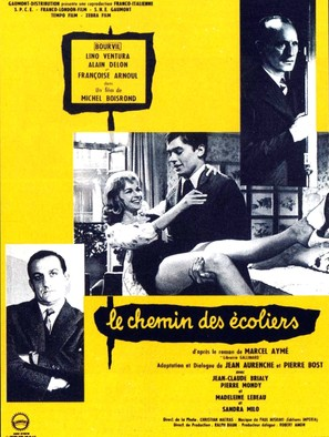Le chemin des écoliers - French Movie Poster (thumbnail)