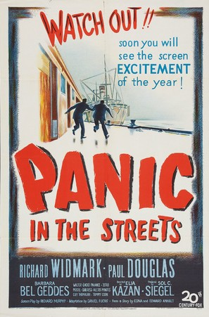 Panic in the Streets - Movie Poster (thumbnail)