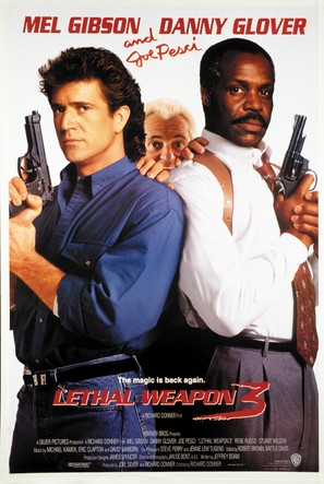 Lethal Weapon 3 - Movie Poster (thumbnail)
