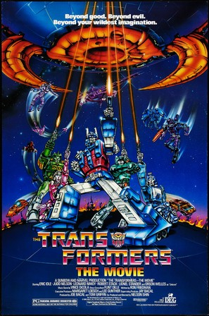The Transformers: The Movie - Movie Poster (thumbnail)
