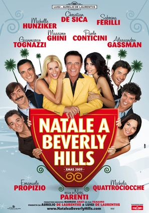 Christmas in Beverly Hills - Italian Movie Poster (thumbnail)