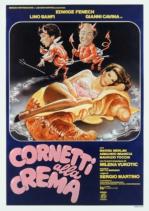 Cornetti alla crema - Italian Theatrical movie poster (thumbnail)