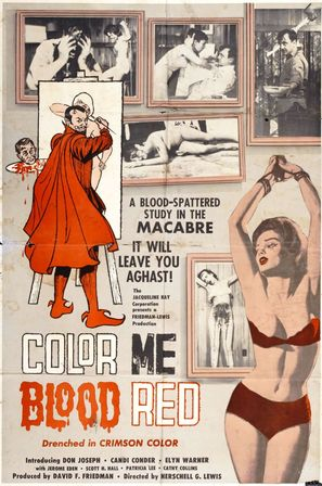 Color Me Blood Red - Movie Poster (thumbnail)