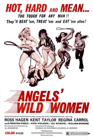 Angels' Wild Women - Theatrical movie poster (thumbnail)