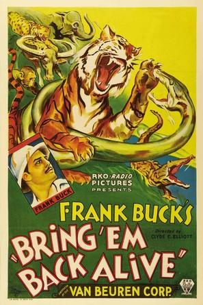 Bring 'Em Back Alive - Movie Poster (thumbnail)