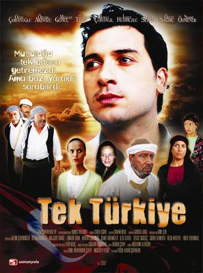"""Tek türkiye"" - Turkish Movie Poster (thumbnail)"